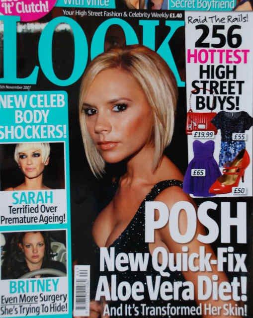 Victoria Beckham Endorsing Aloe Vera Products Gabby